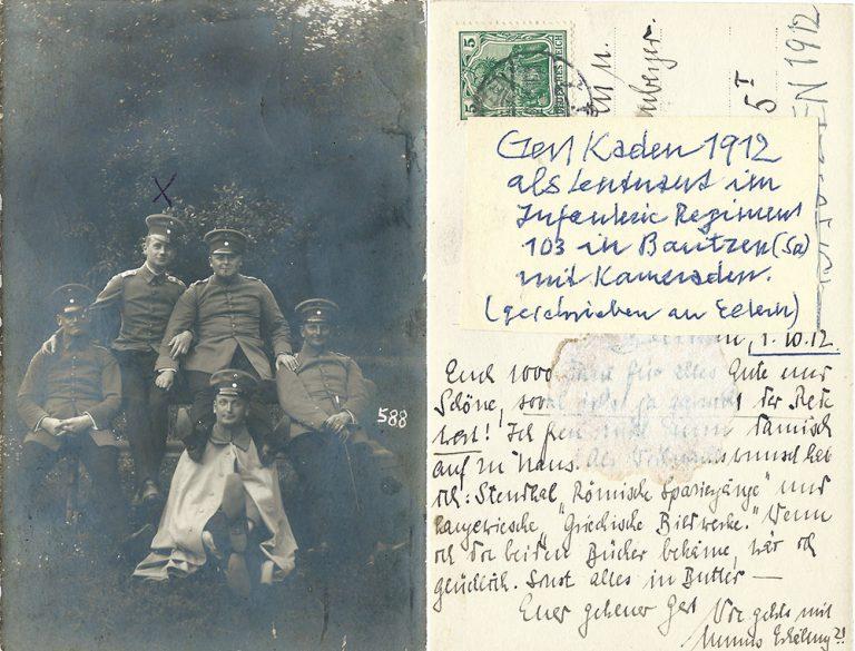in Bautzen 1912